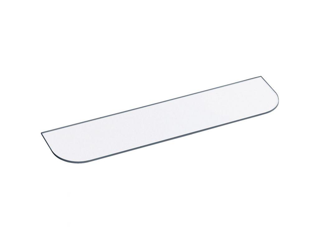 Rayon verre pour tablette 500 x 118 mm verre s curit - Verre securit pour table ...