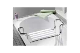 Bath seat, stainless steel