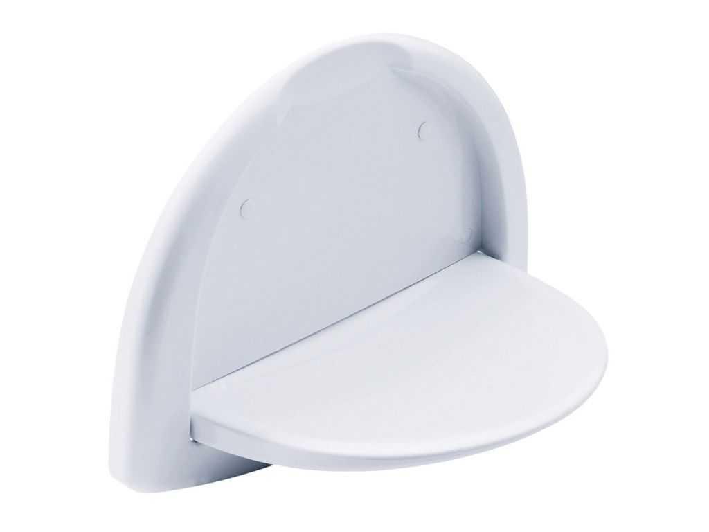 Asiento de ducha plegable abs 460x60x332 mm for Asiento plegable ducha