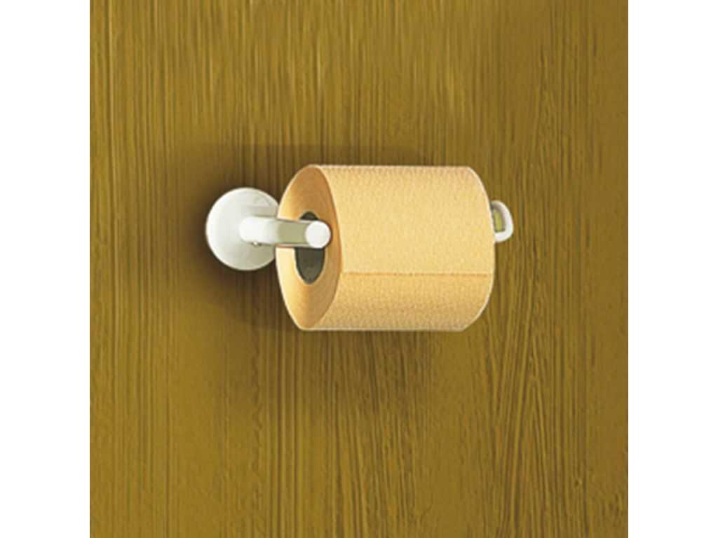 Distributeur papier wc acier epoxy blanc gamme pilat blanc - Distributeur papier wc original ...