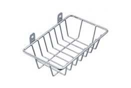 Soap basket, Chrome-plated Steel, 150 x 100 x 37 mm