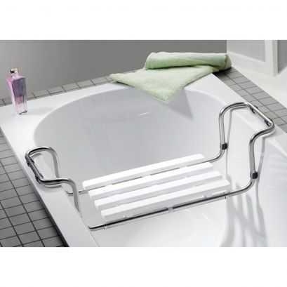 Siège de baignoire, Inox Chromé